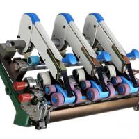 通用型三罗拉紧密纺装置