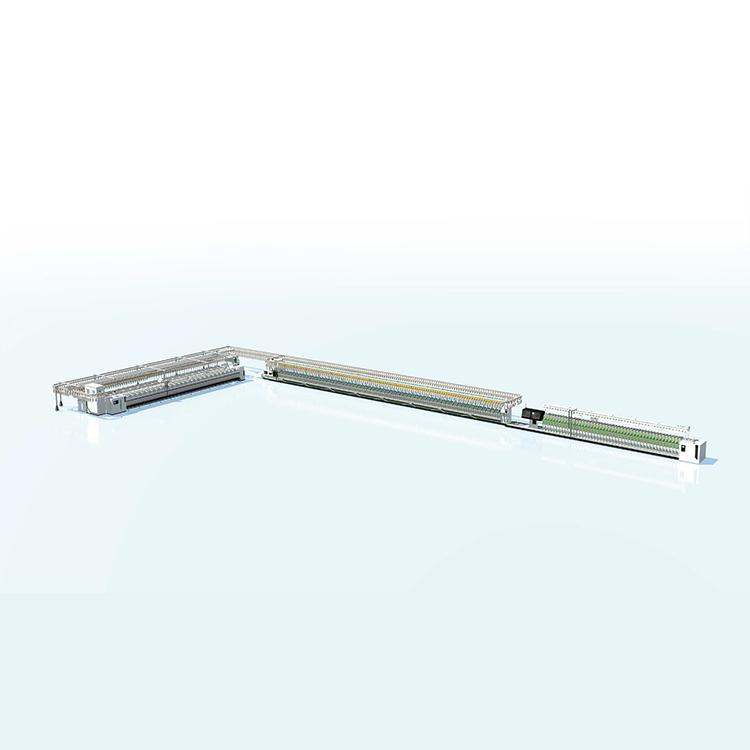 粗細絡聯紡紗系統及筒紗自動輸送包裝系統