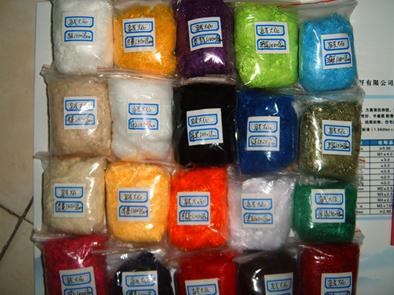 彩色涤纶大化纤