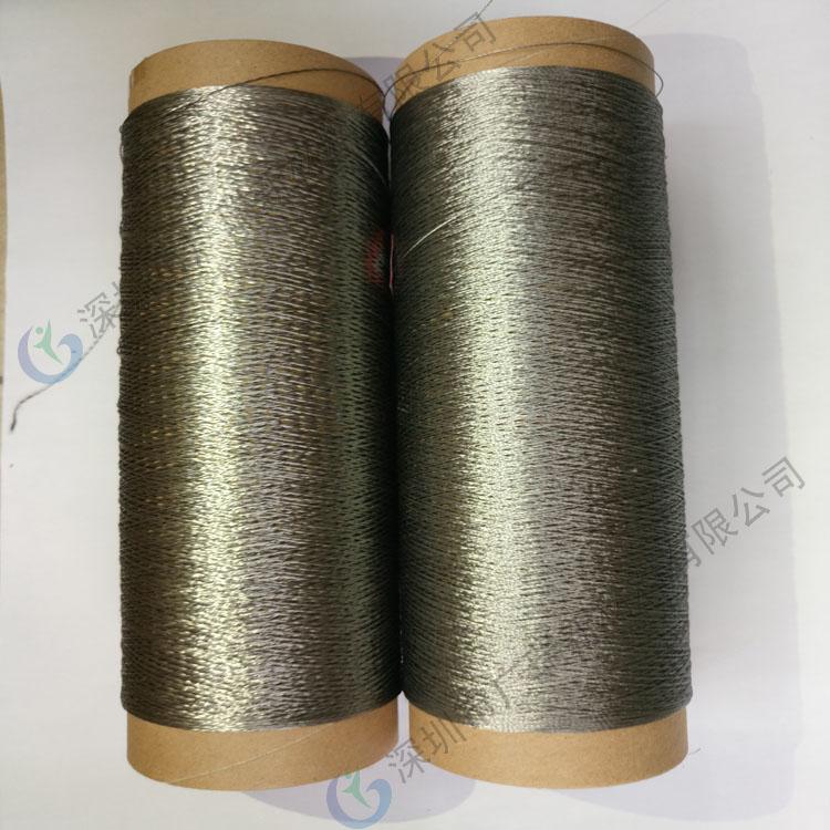 耐高温金属线 金属纤维捻线